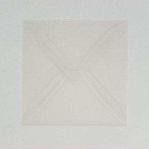 Kuvert transparent, 10x10cm