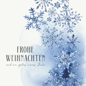 Grusskarte Frohe Weihnachten und ein gutes neues Jahr