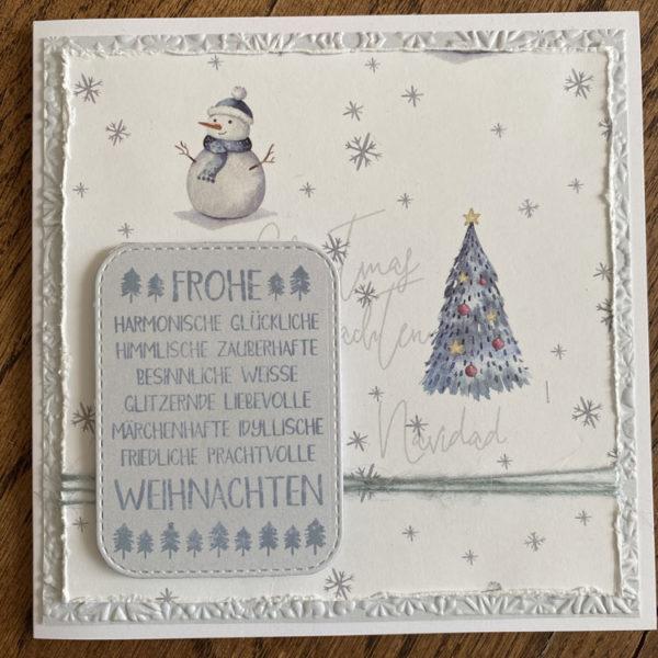 Weihnachtskarte Art.-Nr. 2005