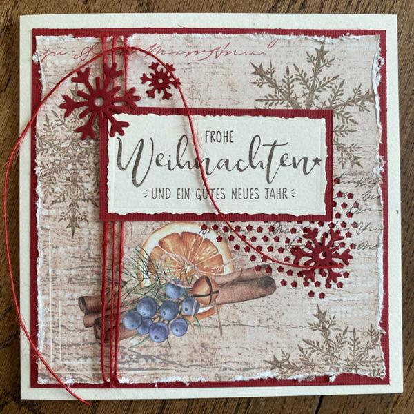 Weihnachtskarte Art.-Nr. 2015