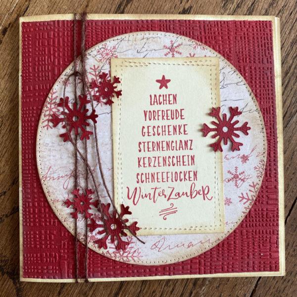 Weihnachtskarte Art.-Nr. 2016